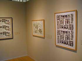 相田みつを美術館・包装紙展示