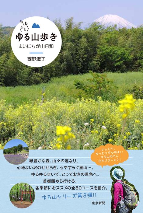 新刊『もっともっとゆる山歩き~まいにちが山日和』