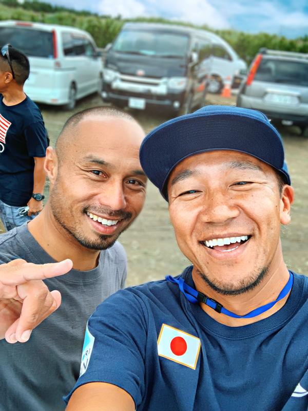 Microさんと、親友の大野コーチ